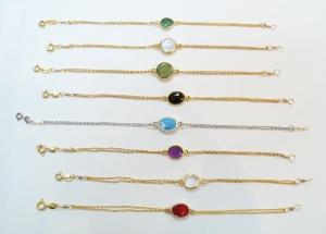Gemstone Quartz Bracelets (BGQ)