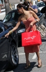 Eva Longoria shopping at Rumor Boutique, Sherman Oak CA.