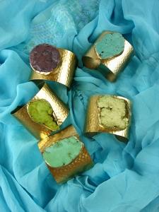 Gemstone Turquoise Cuff