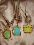 Turquoise Gemstone Short Necklaces