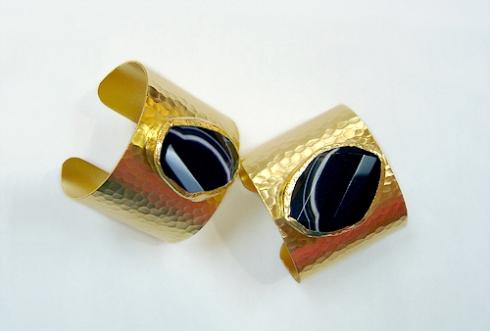Onyx Gold Cuff (CGO)