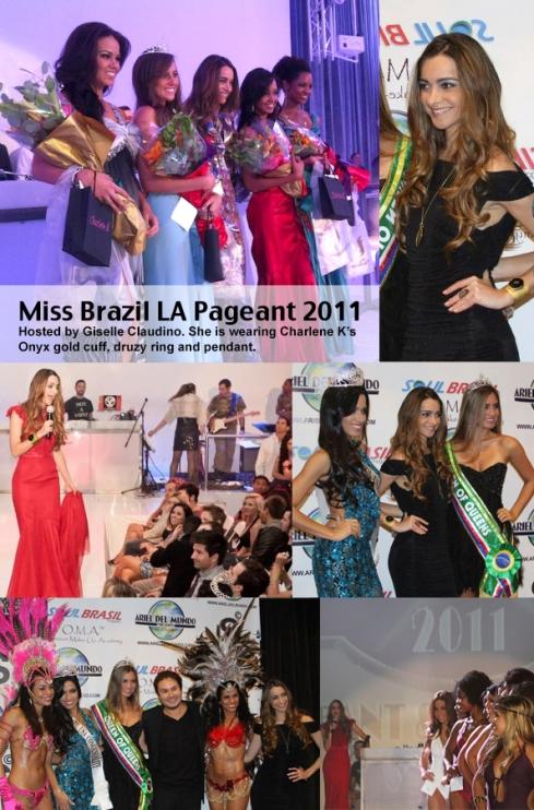 Miss Brazil LA Pageant 2011