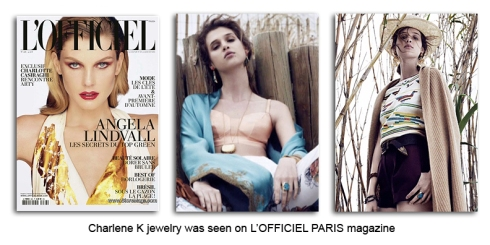 Charlene K see on L'Officiel Paris