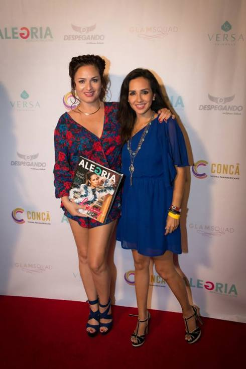 Charlene K on ALEGRIA MAGAZINE SUMMER EDITION LAUNCH