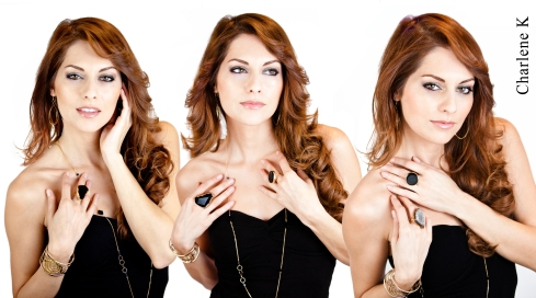 Charlene K Onyx Jewelry Collection