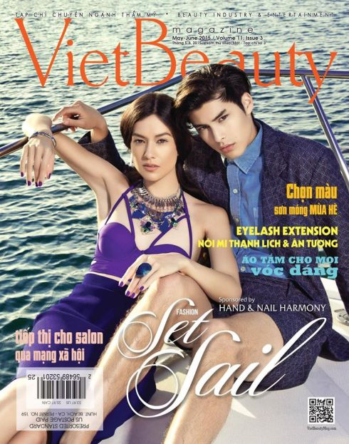 Charlene K seen on Viet Beauty magazine May-Jun 2015 Issue