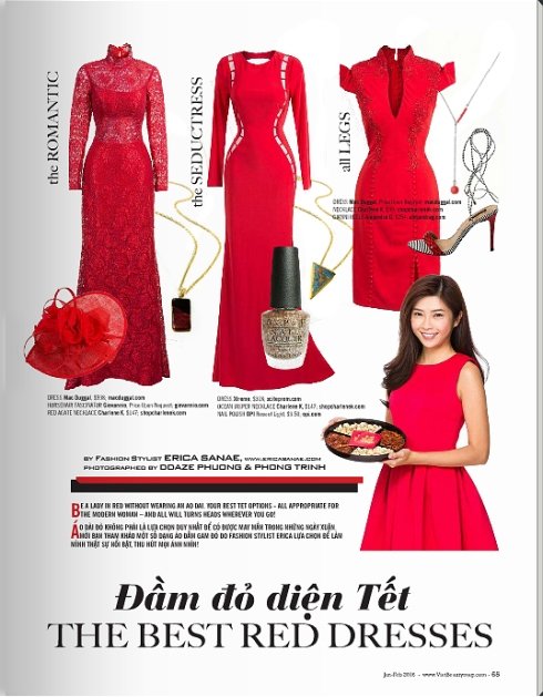 Charlene K Viet Beauty magazine New Year Special Issue