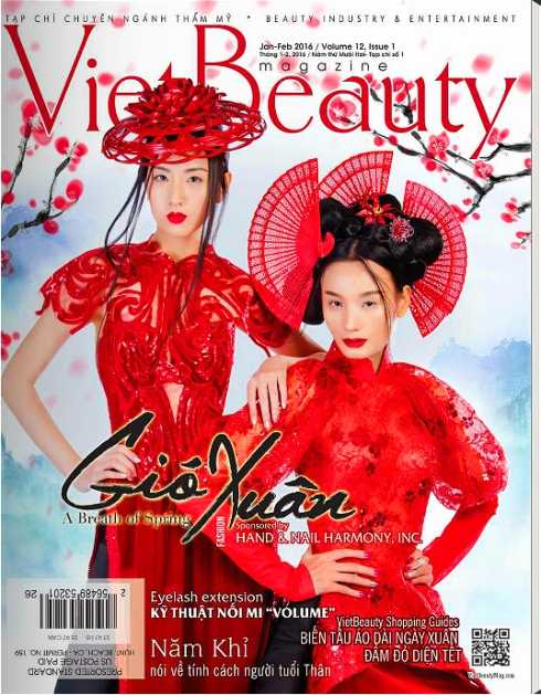 Charlene K Viet Beauty magazine