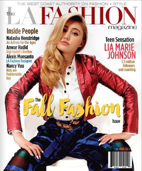 Charlene K jewelry was see o LA Fashion magazine