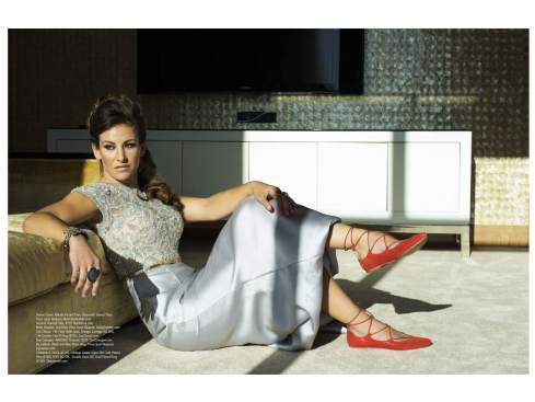Charlene K jewelry featured on Regard magazine editorial page