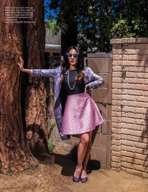 charlene k was seen on regard magazine actress gabrielle ruiz