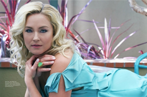 elisabeth rohm with charlene k jewelry
