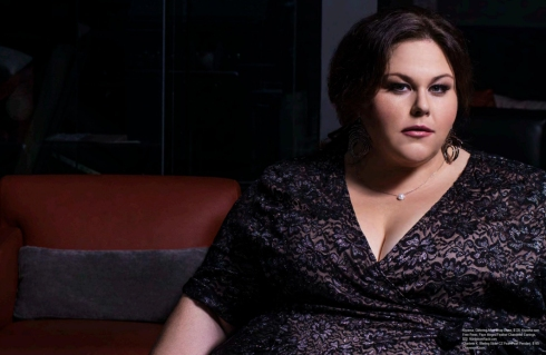 Chrissy Metz was seen wearing Charlene K on Regard Magazine