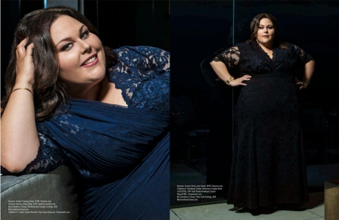 NBC - This is us - Chrissy Metz was seen wearing Charlene K on Regard Magazine