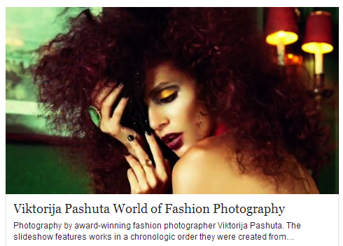 Charlene K and fashion photographer Viktorija Pashut