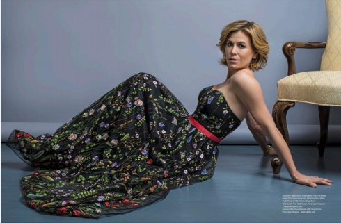 Actress Sonya Walger wore charlene k jewelry