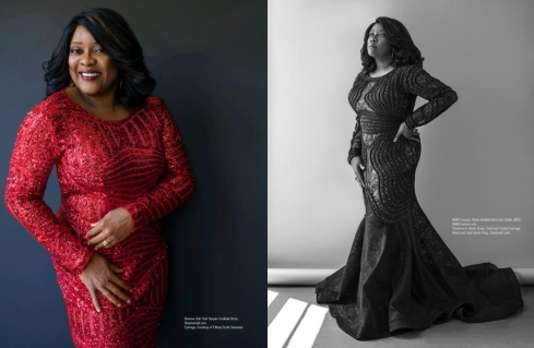 Loretta Devine is wore Charlene K jewelry on Regard Magazine